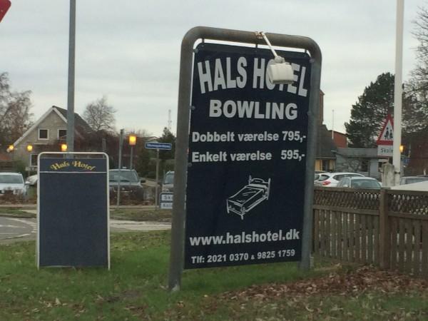 Hals hotel bowling